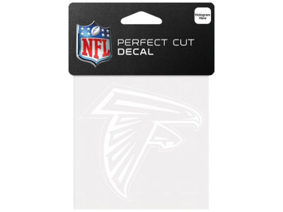 Atlanta Falcons 4x4 Die Cut Decal