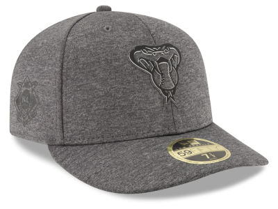 Arizona Diamondbacks New Era MLB Clubhouse Gray Low Profile 59FIFTY Cap