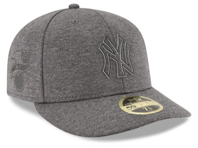 New York Yankees New Era MLB Clubhouse Gray Low Profile 59FIFTY Cap