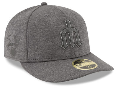 Seattle Mariners New Era MLB Clubhouse Gray Low Profile 59FIFTY Cap
