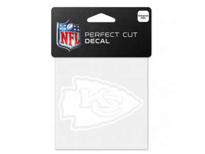 Kansas City Chiefs 4x4 Die Cut Decal