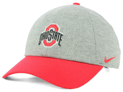 Ohio State Buckeyes Nike H86 Heather Adjustable Cap