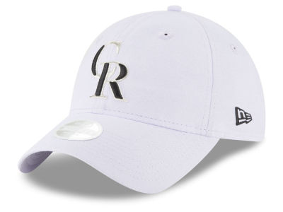 Colorado Rockies New Era MLB Team Linen 9TWENTY Cap