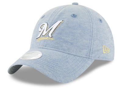 Milwaukee Brewers MLB Team Linen 9TWENTY Cap