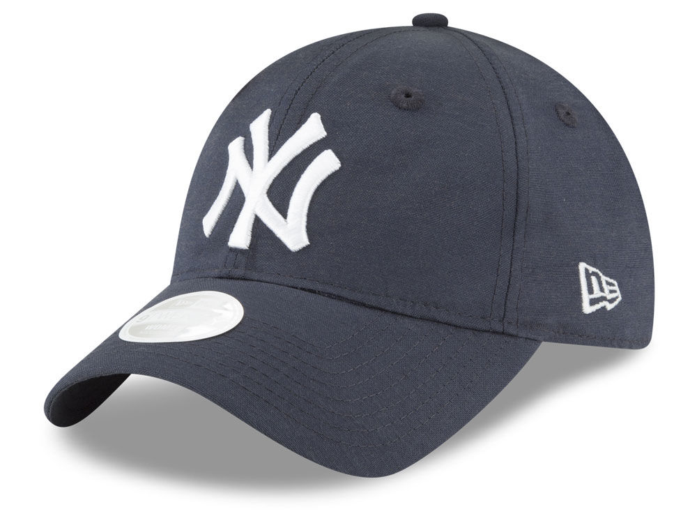 New York Yankees New Era MLB Team Linen 9TWENTY Cap  2758424d5c1