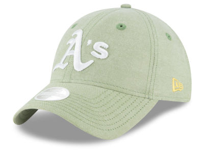 Oakland Athletics MLB Team Linen 9TWENTY Cap