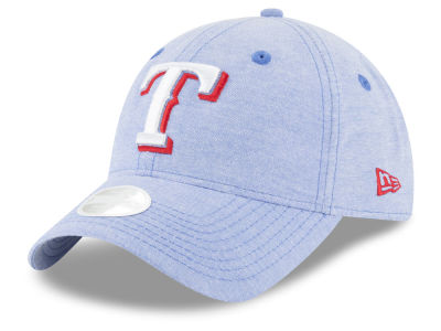 Texas Rangers New Era MLB Team Linen 9TWENTY Cap