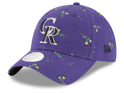 Colorado Rockies New Era MLB Blossom 9TWENTY Cap