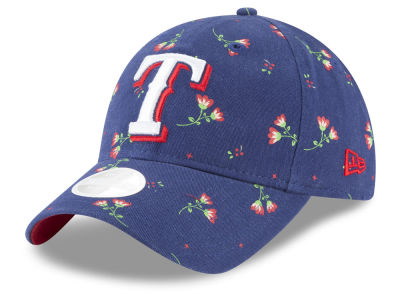Texas Rangers New Era MLB Blossom 9TWENTY Cap