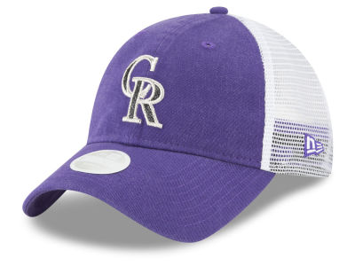 Colorado Rockies New Era MLB Trucker Shine 9TWENTY Cap