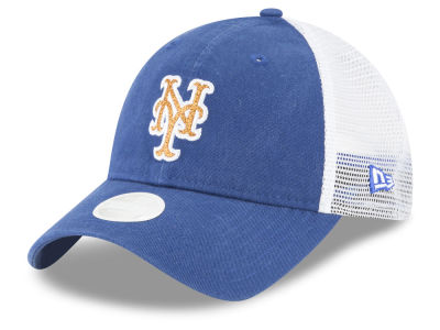 New York Mets MLB Trucker Shine 9TWENTY Cap