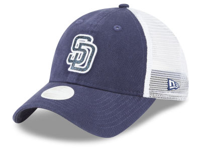 San Diego Padres New Era MLB Trucker Shine 9TWENTY Cap