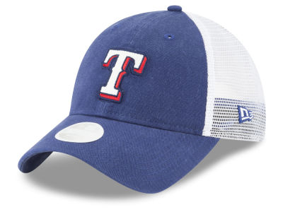 Texas Rangers New Era MLB Trucker Shine 9TWENTY Cap
