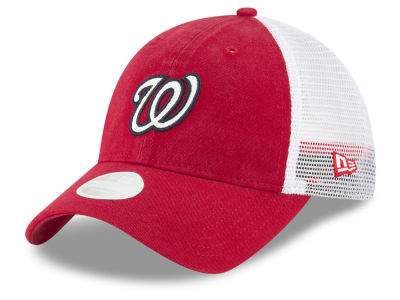 Washington Nationals MLB Trucker Shine 9TWENTY Cap