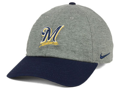 Milwaukee Brewers Nike MLB 2 Tone Heather Cap