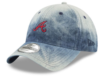 Atlanta Braves New Era MLB Denim Wash Out 9TWENTY Cap