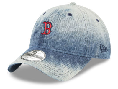 Boston Red Sox New Era MLB Denim Wash Out 9TWENTY Cap