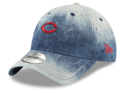 Cincinnati Reds New Era MLB Denim Wash Out 9TWENTY Cap