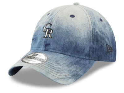 Colorado Rockies New Era MLB Denim Wash Out 9TWENTY Cap