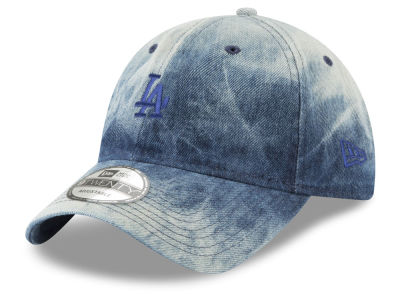 Los Angeles Dodgers New Era MLB Denim Wash Out 9TWENTY Cap
