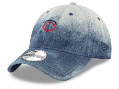 Minnesota Twins New Era MLB Denim Wash Out 9TWENTY Cap