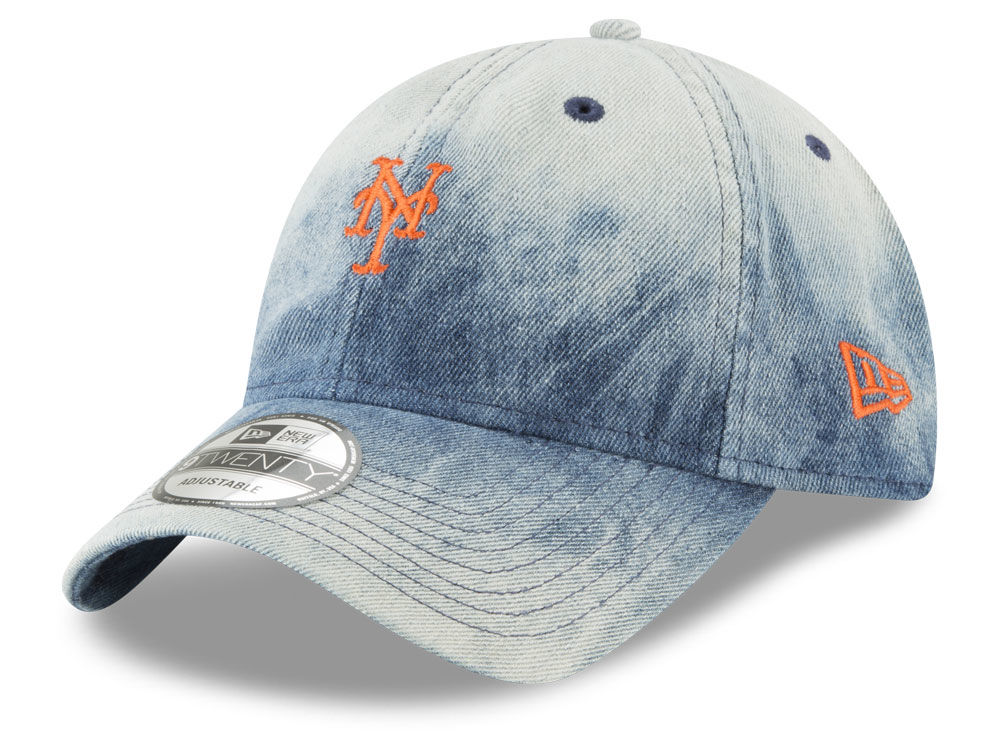 hot sale online ef2d9 d595d ... sweden new york mets new era mlb denim wash out 9twenty cap lids cceba  5bbf1