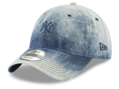 New York Yankees New Era MLB Denim Wash Out 9TWENTY Cap