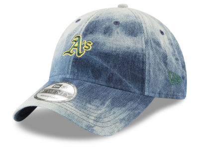 Oakland Athletics New Era MLB Denim Wash Out 9TWENTY Cap