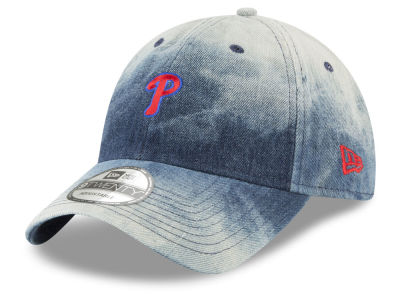 Philadelphia Phillies New Era MLB Denim Wash Out 9TWENTY Cap