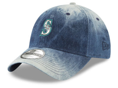 Seattle Mariners New Era MLB Denim Wash Out 9TWENTY Cap