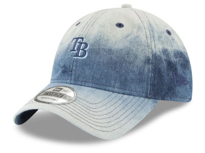 Tampa Bay Rays New Era MLB Denim Wash Out 9TWENTY Cap