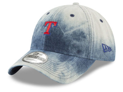 Texas Rangers New Era MLB Denim Wash Out 9TWENTY Cap