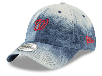 Washington Nationals New Era MLB Denim Wash Out 9TWENTY Cap