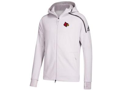 brand new 644e3 820a4 Louisville Cardinals adidas NCAA Men s Zone Pulse Hoodie