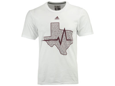 Texas A&M Aggies adidas NCAA Men's State Pulse T-shirt
