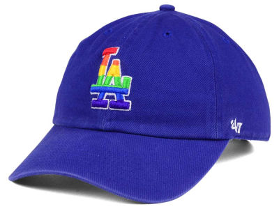 Los Angeles Dodgers '47 MLB Pride CLEAN UP Cap