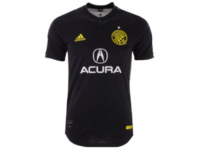 Columbus Crew SC adidas MLS Men's Secondary Authentic Jersey