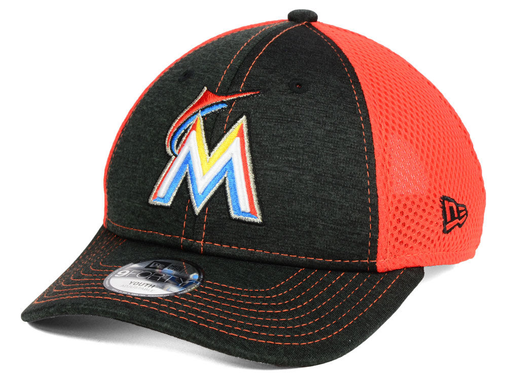 save off d0121 cb512 ... where can i buy miami marlins new era mlb kids turn 2 9forty cap 80097  c0cd8