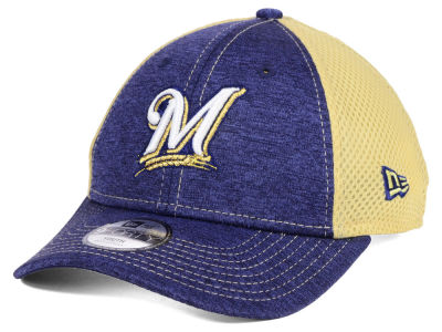 Milwaukee Brewers New Era MLB Kids Turn 2 9FORTY Cap