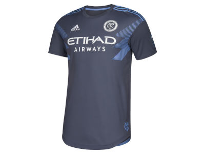 New York City FC adidas MLS Men's Secondary Authentic Jersey