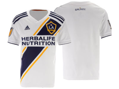 LA Galaxy adidas MLS Youth Primary Replica Jersey
