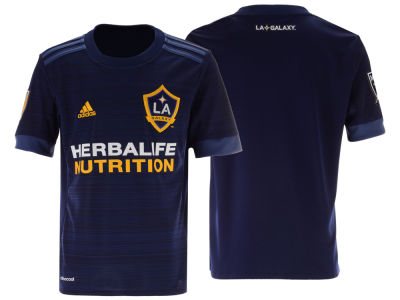 LA Galaxy adidas MLS Youth Secondary Replica Jersey