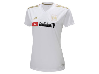Los Angeles Football Club adidas MLS Women's Secondary Replica Jersey