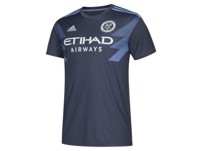 New York City FC adidas MLS Youth Secondary Replica Jersey