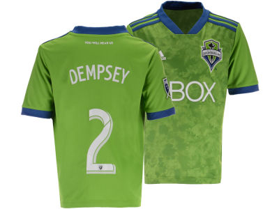 Seattle Sounders FC adidas MLS Youth Primary Replica Player Jersey