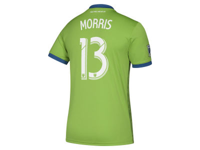 Seattle Sounders FC Jordan Morris adidas MLS Men's Primary Replica Player Jersey