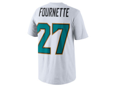 Jacksonville Jaguars Leonard Fournette Nike NFL Men's Pride Name and Number T-Shirt