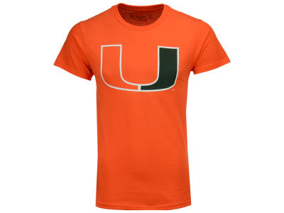 Miami Hurricanes Retro Brand NCAA Big Logo T-Shirt