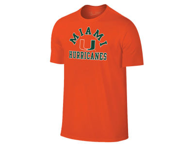 Miami Hurricanes Retro Brand NCAA Men's Arch Logo T-Shirt