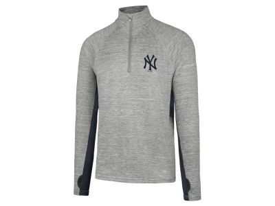 New York Yankees MLB Men's Evolve Quarter Zip Pullover